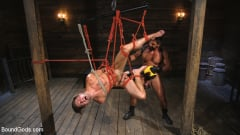 Dominic Pacifico - Submissive Stud Casey Everett gets Tied Up and Machine Fucked by a God (Thumb 08)