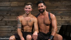 Dominic Pacifico - Submissive Stud Casey Everett gets Tied Up and Machine Fucked by a God (Thumb 14)