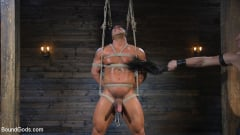 Draven Navarro - Bound bodybuilding god at the hands and torment of Mr Keys (Thumb 01)