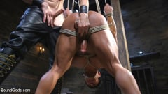 Draven Navarro - Bound bodybuilding god at the hands and torment of Mr Keys (Thumb 11)
