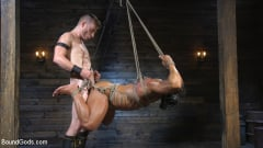Draven Navarro - Bound bodybuilding god at the hands and torment of Mr Keys (Thumb 12)