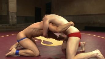 Eli Hunter in 'Eli 'The Hammer' Hunter vs Doug 'The Destroyer' Acre - Big Dick Match'