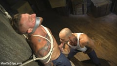 Hugh Hunter - Bound Beefcake Gets Edged to the Max! (Thumb 05)