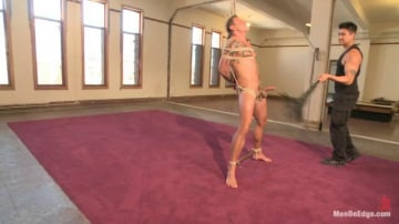 Jace Chambers - Veiny hung cock, edged for the first time