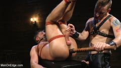 Jack Andy - Submissive Stud Andy Jack Bound in Rope and Fucked in Ass!! (Thumb 13)