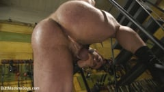 Jaxton Wheeler - House dom takes his first machine deep in his hairy hole! (Thumb 03)
