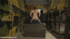 Jaxton Wheeler - House dom takes his first machine deep in his hairy hole! (Thumb 06)