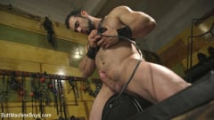 Jaxton Wheeler - House dom takes his first machine deep in his hairy hole! (Thumb 07)