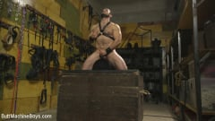 Jaxton Wheeler - House dom takes his first machine deep in his hairy hole! (Thumb 08)