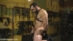 Jaxton Wheeler - House dom takes his first machine deep in his hairy hole! (Thumb 09)