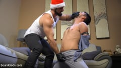 Jaxton Wheeler - Santa's Slut: Rough Takedown Sex for First Time Kink Model (Thumb 12)