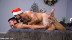 Jaxton Wheeler - Santa's Slut: Rough Takedown Sex for First Time Kink Model (Thumb 17)