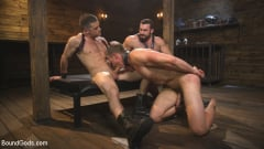 Jaxton Wheeler - Training Day - Dom in training gets to break in a ripped, new slave (Thumb 14)