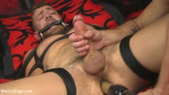 Jay Austin - Hot new stud with a beautiful cock gets edged and fucked to cum! (Thumb 10)