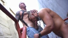Jay Austin - Muscle Stud is Shackled and Flogged in the Streets for SF Pride Weekend (Thumb 05)