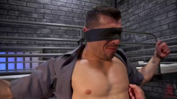 Jeremy Spreadums - New CO falls asleep on the job and gets milked by two horny inmates