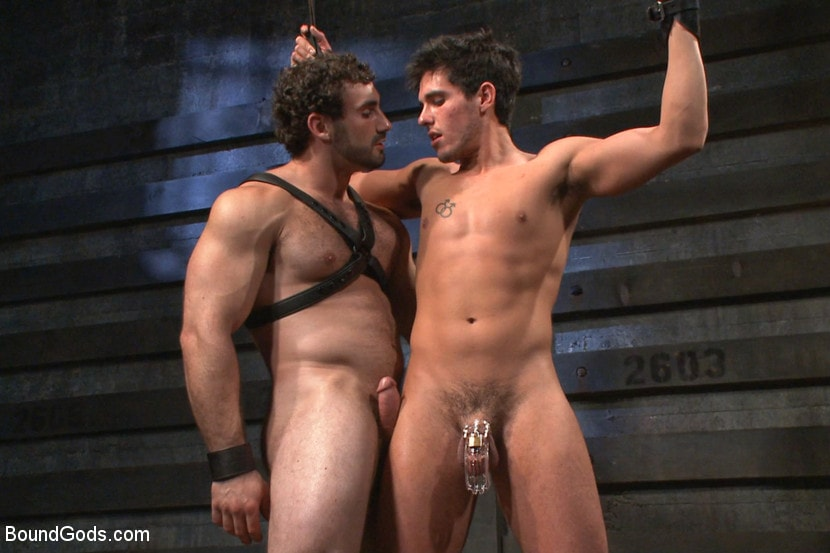 Gay muscle stud humiliated in gym locker room 10