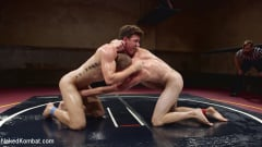 JJ Knight - Southern Boys with Giant Cocks Wrasslin' in Oil: JJ Knight vs Zane Anders (Thumb 12)