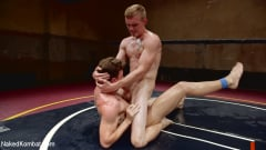 JJ Knight - Southern Boys with Giant Cocks Wrasslin' in Oil: JJ Knight vs Zane Anders (Thumb 13)