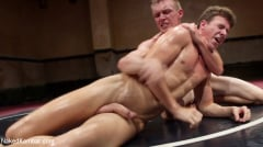 JJ Knight - Southern Boys with Giant Cocks Wrasslin' in Oil: JJ Knight vs Zane Anders (Thumb 15)