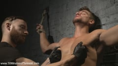 Jordan Boss - Straight Hunk - Solid Muscle - Mercilessly Beaten and Made to Cum (Thumb 01)