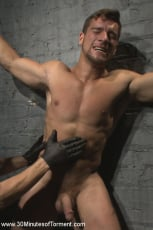 Jordan Boss - Straight Hunk - Solid Muscle - Mercilessly Beaten and Made to Cum (Thumb 09)
