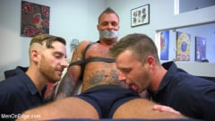 Kai Donec - Motorcycle Mechanic Stud Gets His Road Hard Hog Ridden to the Edge (Thumb 03)