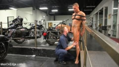 Kai Donec - Motorcycle Mechanic Stud Gets His Road Hard Hog Ridden to the Edge (Thumb 10)