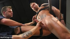 Kai Donec - Motorcycle Mechanic Stud Gets His Road Hard Hog Ridden to the Edge (Thumb 11)