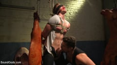 Kyler Ash - Perverted Butcher torments and abuses his handsome captive (Thumb 02)