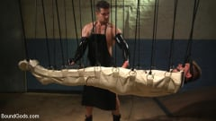 Kyler Ash - Perverted Butcher torments and abuses his handsome captive (Thumb 12)