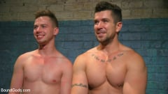 Kyler Ash - Perverted Butcher torments and abuses his handsome captive (Thumb 13)