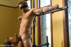Landon Conrad - Super hunk Landon Conrad tied up and edged for the very first time (Thumb 05)