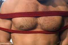 Landon Conrad - Super hunk Landon Conrad tied up and edged for the very first time (Thumb 18)