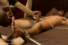 Landon Conrad - Super hunk Landon Conrad tied up and edged for the very first time (Thumb 19)