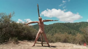 Logan Stevens - Captured and edged in the deep woods