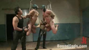 Master Avery - Most challenging suspensions in the history of Bound Gods - Live Shoot