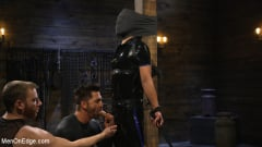 Matt Anthony - Monster Cocked Noob Blindfolded, Gagged, and Edged Til He Blows (Thumb 04)