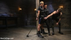 Matt Anthony - Monster Cocked Noob Blindfolded, Gagged, and Edged Til He Blows (Thumb 10)