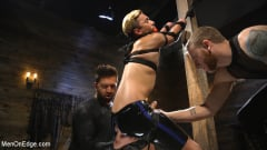 Matt Anthony - Monster Cocked Noob Blindfolded, Gagged, and Edged Til He Blows (Thumb 14)