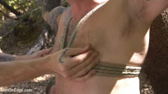 Max Cameron - Hard Woods: Max Cameron Suspended and Tormented in California Redwoods (Thumb 03)