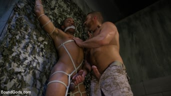 Mike Maverick in 'Lazy Soldier Gets Humiliated, Punished, Fucked'