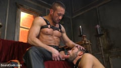 Myles Landon - Myles Landon Punishes Chance Summerlin With Huge, Thick Cock (Thumb 07)