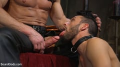 Myles Landon - Myles Landon Punishes Chance Summerlin With Huge, Thick Cock (Thumb 08)
