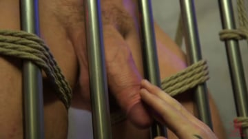 Pierce Paris - All-American Stud Pierce Paris Gets Edged and Fisted by Border Patrol