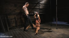 Pierce Paris - Captive God Pierce Paris, Bound in Rope Bondage and Fucked by Hot Stud (Thumb 02)