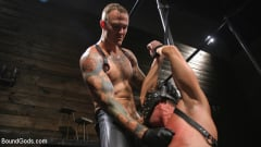 Pierce Paris - Captive God Pierce Paris, Bound in Rope Bondage and Fucked by Hot Stud (Thumb 05)