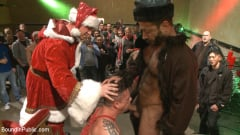 Rex Cameron - Muscled submissive whored out by santa for the holidays (Thumb 01)