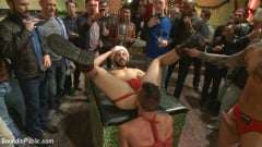 Rex Cameron - Muscled submissive whored out by santa for the holidays (Thumb 05)
