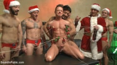 Rex Cameron - Muscled submissive whored out by santa for the holidays (Thumb 10)